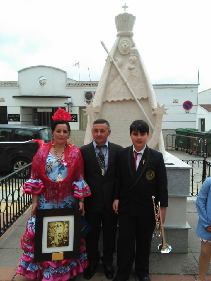 Hermano Mayor Virgen de la Cabeza Ramon Perez Melero