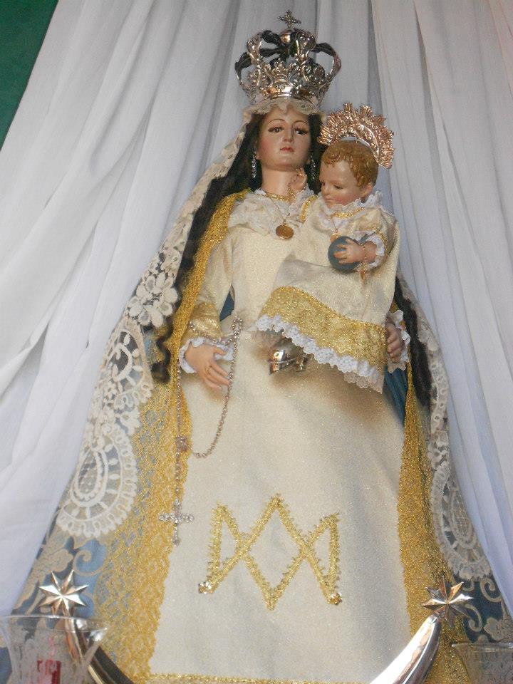 Virgen de la Cabeza Benameji detalle 2