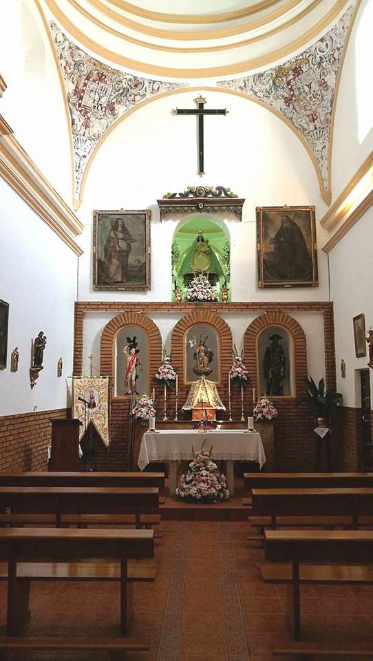 Virgen de la Cabeza Benameji iglesia