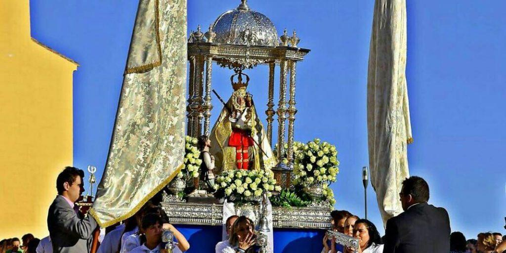 Virgen de la Cabeza de Baena andas