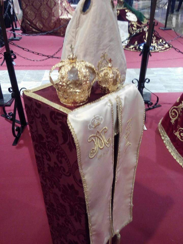 Virgen de la Cabeza de Jaén corona