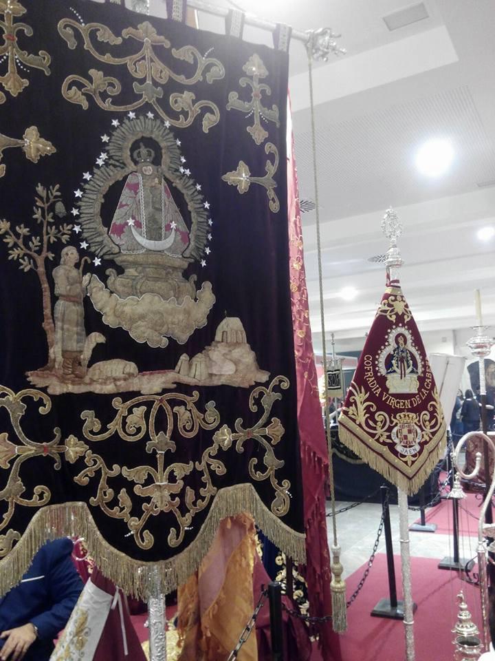 Virgen de la Cabeza de Jaén estandarte