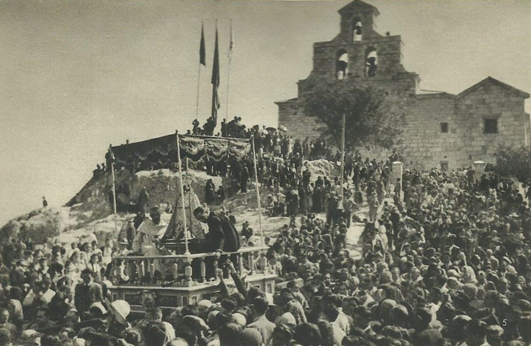 Romería Virgen de la Cabez 1950