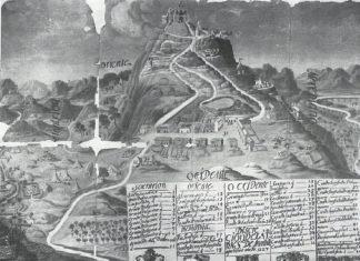 Santuario Virgen de la Cabeza plano antiguo