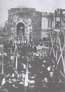 Santuario Virgen de la Cabeza reconstrucción romería 1941