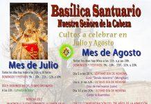 Actos aparición Virgen de la Cabeza 2017