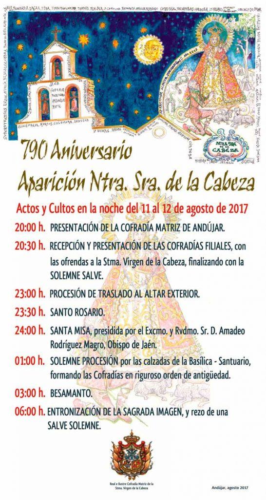 Virgen-de-la-Cabeza-cartel-de-aparición-2017 Andújar