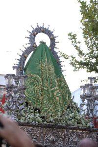 Manto Virgen-de-la-Cabeza-coronacion-El-Carpio--manto-Luces