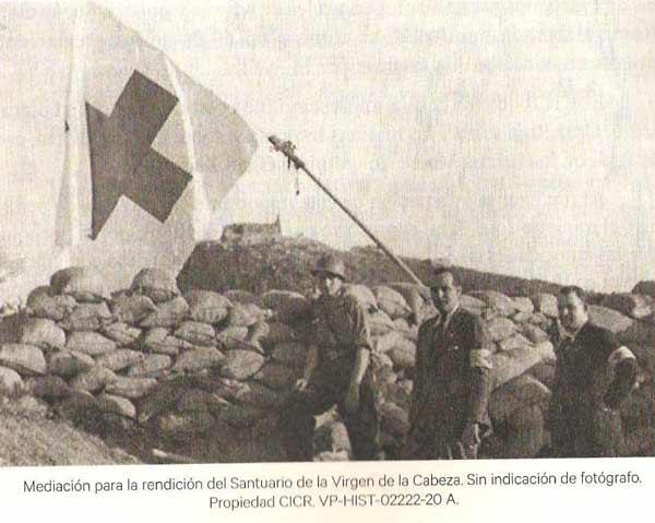 Santuario-Virgen-de-la-Cabeza-Guerra-Civil-cruz-roja