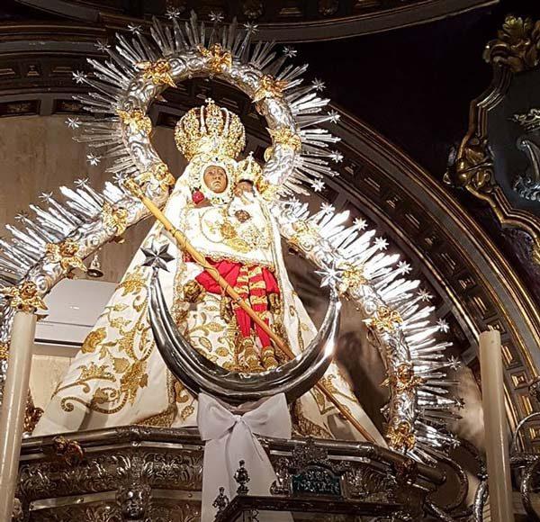 Manto Virgen de la Cabeza de Alfonso XIII