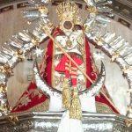 Virgen-de-la-Cabeza-manto-rojo-en-camarin