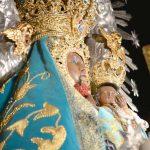 Virgen de-la-Cabeza manto turquesa santuario