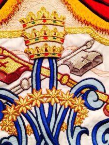 Bandera Matriz Andújar detalle llaves