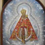 Lienzo ofrenda de flores Virgen de la Cabeza