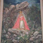 pintura-aparicion-Virgen-de-la-Cabedza-de-Aldehuela