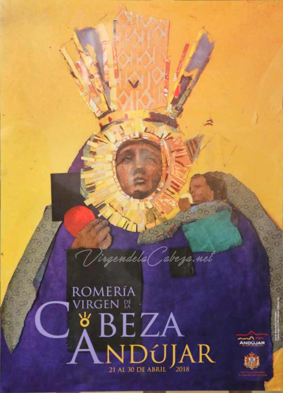 Cartel romeria Virgen de la Cabeza 2018
