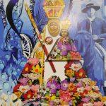 Virgen de la Cabeza con flores