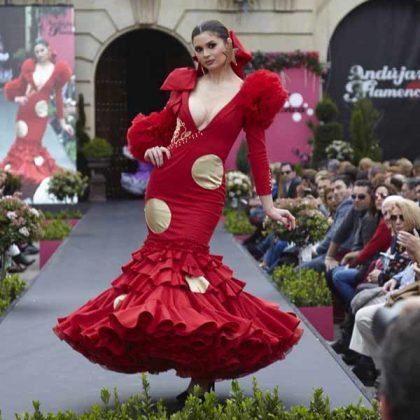 Trajes de flamenca Pepa Mena