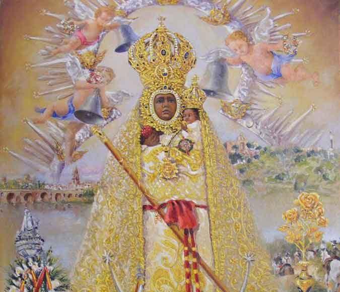 Virgen-de-la-Cabeza-pintado-Madre-Ana