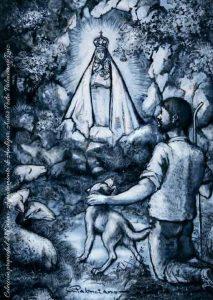 Virgen-de-la-Cabeza-ceramica-pintada-Pedro-Palenciano