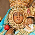 Virgen-de-la-Cabeza-manto-azul-rostro-niño