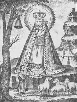 Virgen-Cabeza-resplandor-litografia