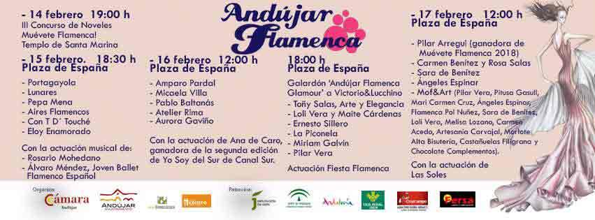 Desfiles Andújar Flamenca 2019