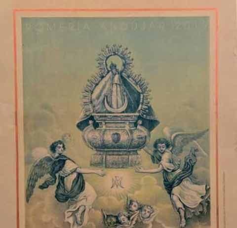 Cartel romeria Virgen de la Cabeza 2019