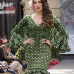 traje gitana Andújar Flamenca pasarela