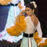 Andújar Flamenca traje de gitana