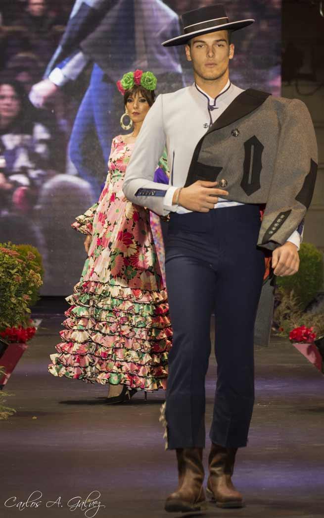 Andújar Flamenca traje de corto