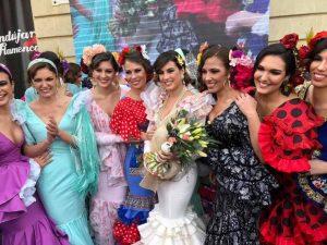 Modelo del Año Andújar Flamenca Conchi Santiago