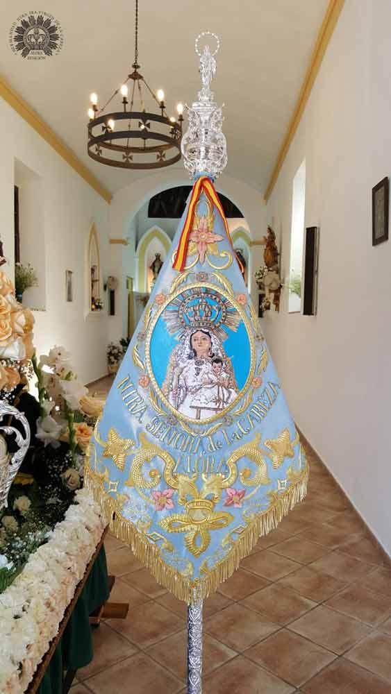guión de camino Virgen-de la Cabeza Álora