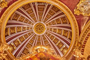 Camarin Virgen de la Cabeza cúpula