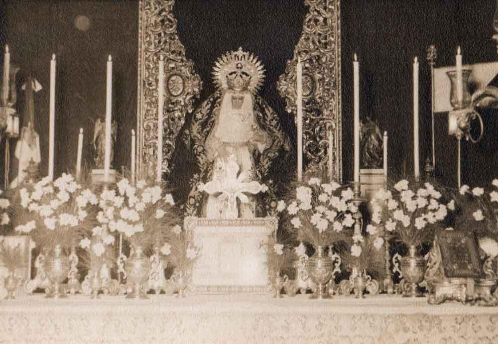 Virgen-de-la-Cabeza-hermandad siete palabras bendición