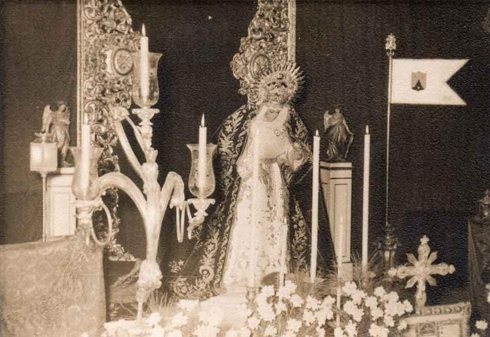 Virgen de la Cabeza Hermandad Siete Palabras