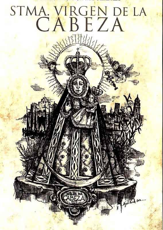 dibujo Virgen de la Cabeza