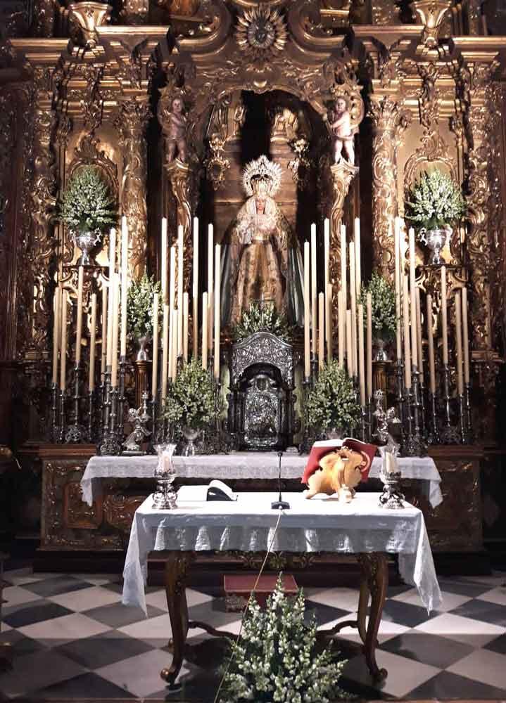 Virgen de la Cabeza Siete Palabras Sevilla