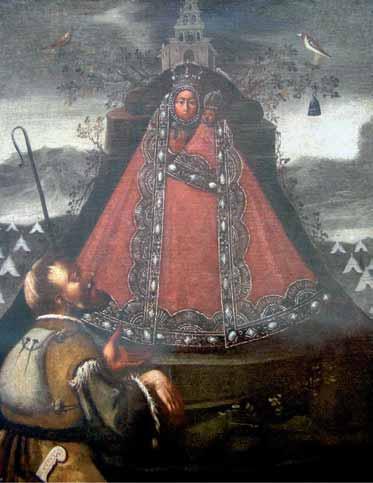 Cuadro-Virgen-de-la-Cabeza-en-Santa-Maria