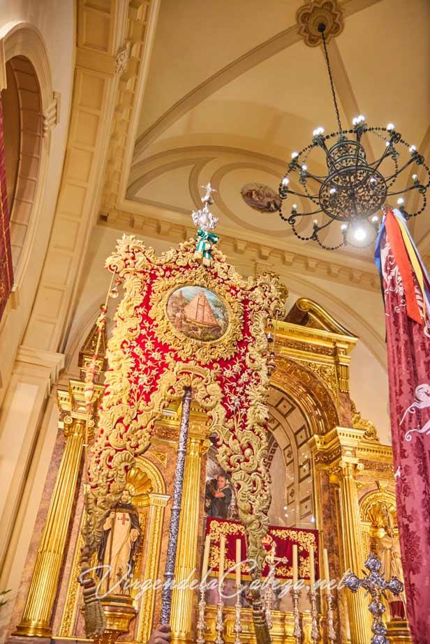 Estandarte Virgen de la Cabeza