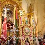 Estandarte-y-banderas santuario Virgen de la Cabeza camarin
