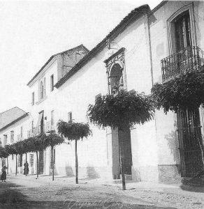 Antigua ermita Virgen de la Cabeza en Andújar siglo XVII-XVIII