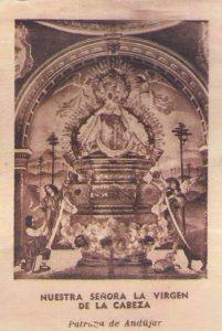 Camarin Virgen Cabeza antiguo
