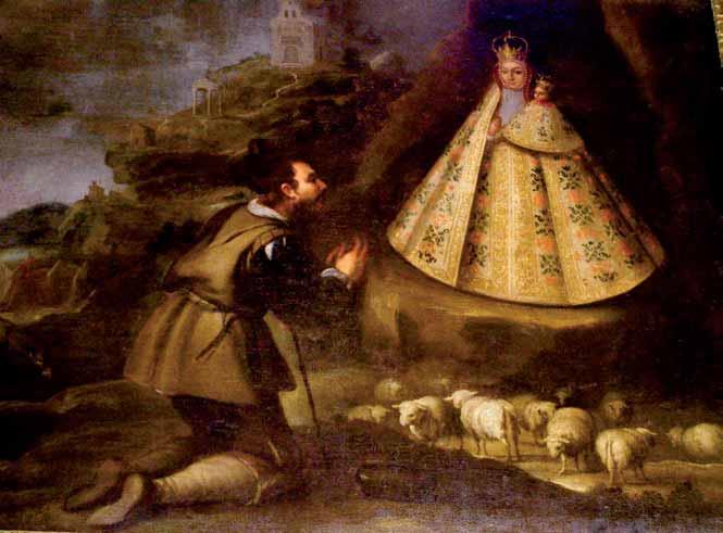 Cuadro Virgen de la Cabeza de Colomera