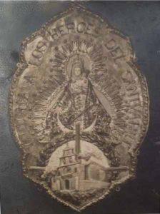 medalla-estadal-1950-Gloria-a-los-heroes-del-Santuario