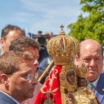 romeria-Virgen-de-la-Cabeza con alcalde