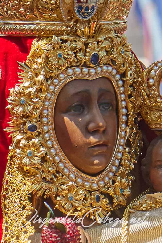 rostrillo Virgen de la Cabeza
