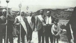 Hermano Mayor de la Cofradía Miguel Corpas Canales 1933