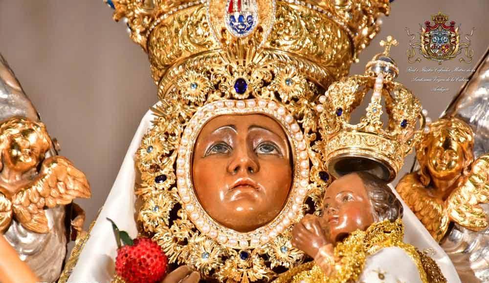 Manto Paquirri Virgen de la Cabeza