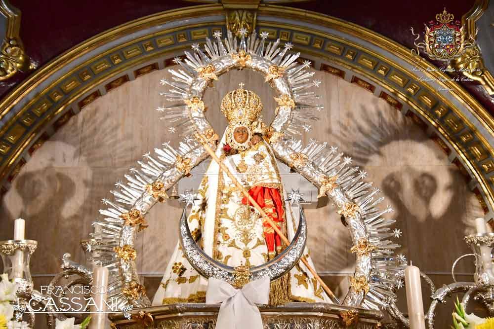 Manto Paquirri Virgen de la Cabeza camarín